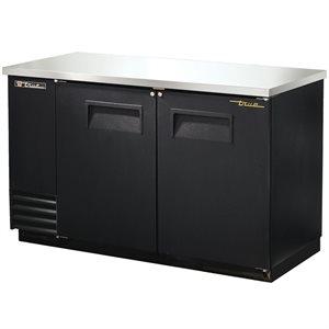 Réfrigérateur D'arrière Bar, Dessus En Acier Inoxydable, 59 Po