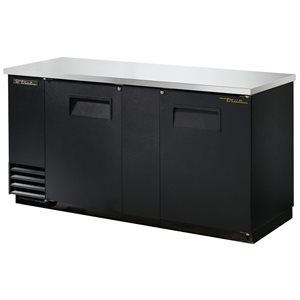 Réfrigérateur De Bar, Dessus En Acier Inoxydable, 69 Po En Longueur