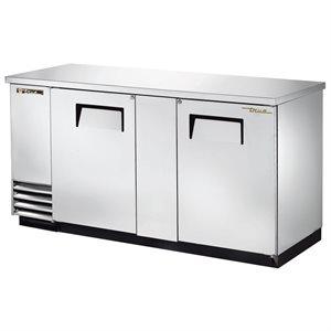 Réfrigérateur Bar, Dessus/Porte En Acier Inoxydable, 69 Po