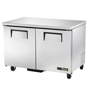 Réfrigérateur De Comptoir En Acier Inoxydable, 48 Po En Largeur