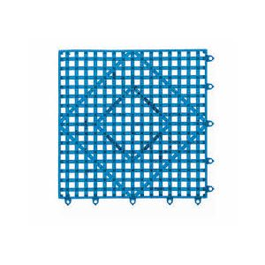 Tapis De Comptoir/Bar A Emboitement, Bleu, 30.5 X 30.5 CM