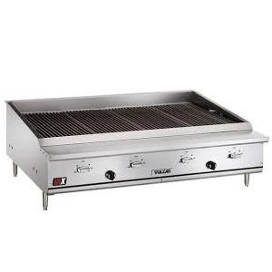 "INFRA-RED CHARBROILER 48"" NAT/GAS"